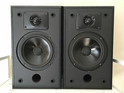Vintage Polk Audio Speakers Monitor Series 2 Excellent Condition