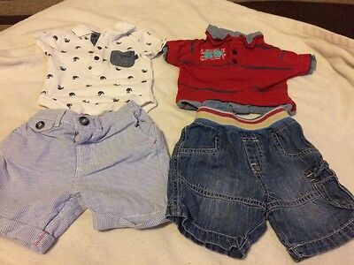 A Set Of 2 Baby Boys Outfits 3-6 Months