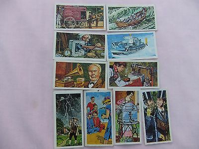 Vintage Brooke Bond Oxo Collectable Tea Cards (Inventors And Inventions)
