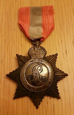 Imperial Service Medal - Edward VII issue