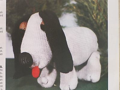 Puppy Toy Pattern For Machine Knitting