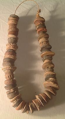 Antique Ancient Artifact Mayan Necklace