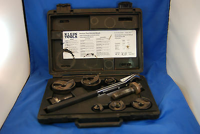 Klein Tools 53732SEN Knockout Punch Set with Wrench (111128)