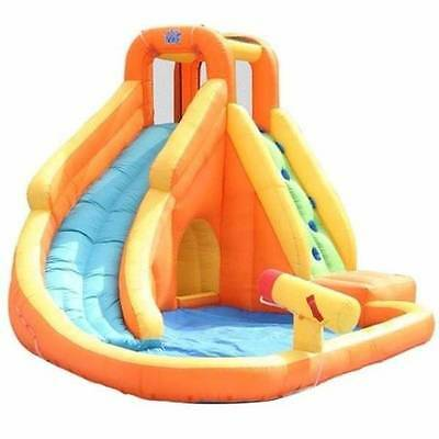 Water Slide With Pool & Cannon