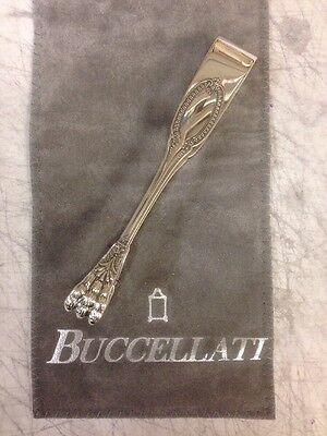 Gianmaria Buccellati Sterling Silver Empire Sugar Tongs