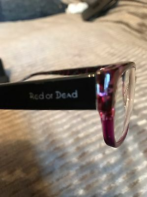 Red Or Dead Glasses & Case