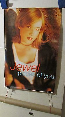 "JEWEL Pieces Of You 1996 20x30"" PROMO CD Store POSTER [R188]"