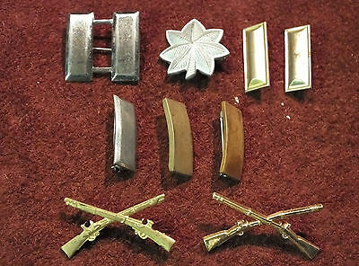 Wwii Us Army Officers Rank Insignia Group