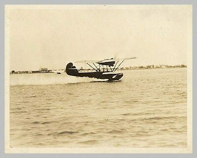 Detroit Eastman Flying Boat During Take Off Run