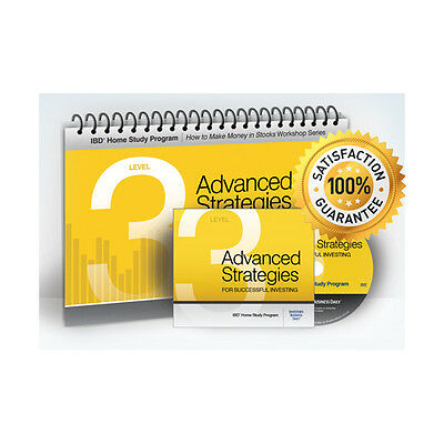 Investors Business Daily IBD Level 3 Advanced Strategies Successful Investing
