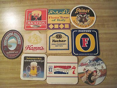 10 Beer & Liquor Brand Coasters