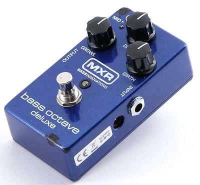 MXR Bass Octave Deluxe M288 Octave Generator Bass Multi-Effects Pedal PD-2199