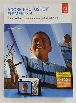 Adobe Photoshop Elements 9 - Full Version for Mac, Windows 65097876
