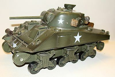 1:18 21st Century Ultimate Soldier WWII U.S Sherman M4 Tank for parts