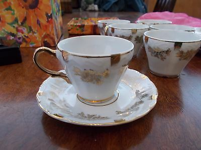 COFFEE CUPS x 6 , JAPANEASE