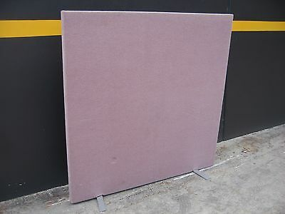 """""""last One"""" Pink Carpeted Partition, Pinable,  Divider Wall, Home, Office, Garage"""