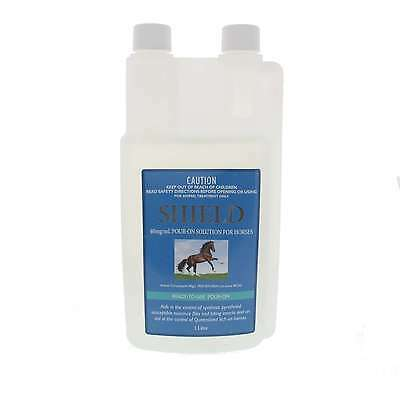 SHIELD Insecticidal Pour On Inceticide Horse Equine Health 1L Pharmachem
