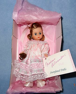 """Madame Alexander Doll 8"""" WENDY 466 - Peter Pan NEW NRFB All Accessories"""
