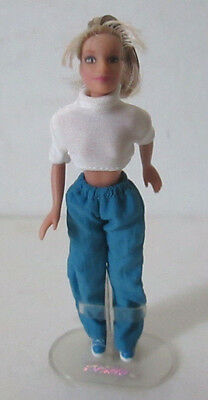 """Britney Spears 6"""" Doll with Stand 2000"""