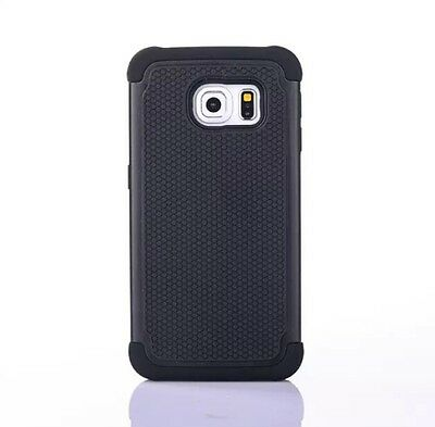 Hybrid Football Grain Cover for Samsung S6 With Retail Pack of 13 Pcs