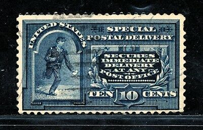 Dr Jim Stamps Old Us Special Delivery Scott E5 10C Used No Reserve Free Shipping