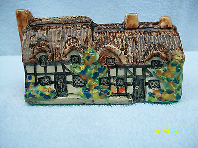 Tey Pottery Anne Hathaways House . Miniature .Norfolk Made.