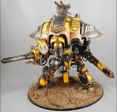 Paladin [x1]  Imperial knight [Warhammer 40,000 ] Painted