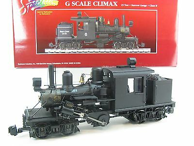 Bachmann G-Scale 25 Ton Class B Climax Locomotive, Unlettered,  81181