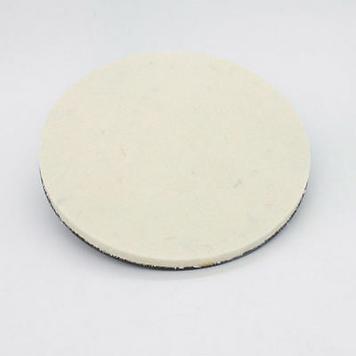 "8"" Felt Lapidary Glass Gemstone Polishing Pad with magnetic baking"