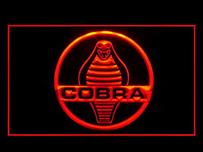 Y288R Shelby Cobra For Repair Center Display Décor Light Sign