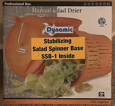 Dynamic - SD92 - 5 Gallon Manual Salad Spinner Lettuce Dryer with Stand