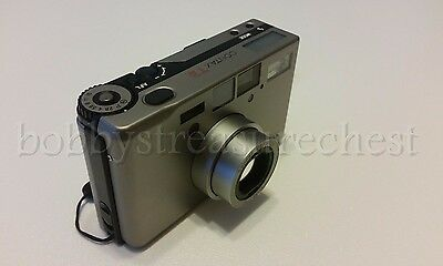 Contax T3 35mm Point & Shoot Film Camera With Case And Manual