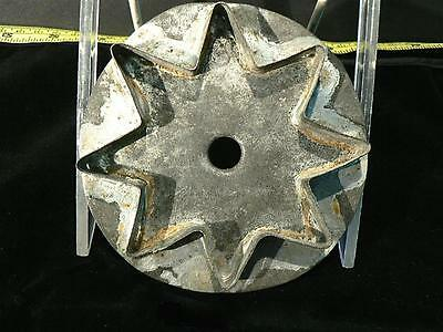 Vintage Antique 19Th C. Tin Cookie Cutter Christmas Star Pennsylvania Soldered