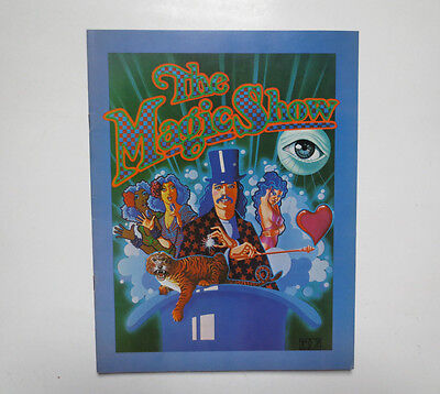 The Magic Show Souvenir Book by Edwin Gifford (1974, Softcover)