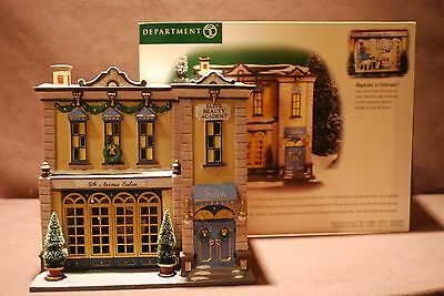 Department  56, Christmas In The City,5th Avenue  Salon  ,58950