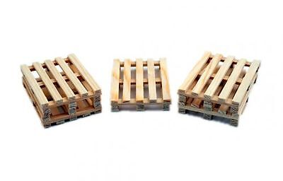 Zenner Wooden pallets as euro pallet G Gauge 1 Guage:22,5 for Forklift trucks