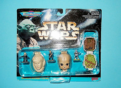 STAR WARS Micro Machines - MINI HEADS Collection IV - 1996 NEU NEW 68020