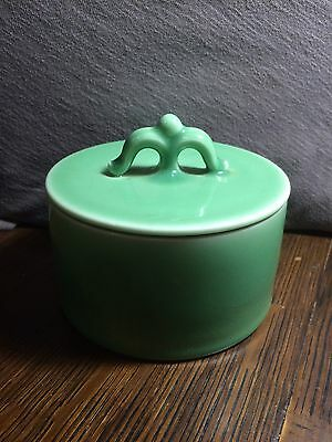 Rookwood Pottery 1936 Green Covered Dish Box Bowl Excellent! Art Deco