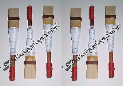 Uilleann Bagpipe Chanter Reeds of Spanish Cane 5 Reed 100% moneyback Guranted.