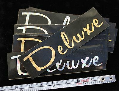 Harley Davidson Prism Deluxe Decal Vintage 80s classic design SOLD EACH