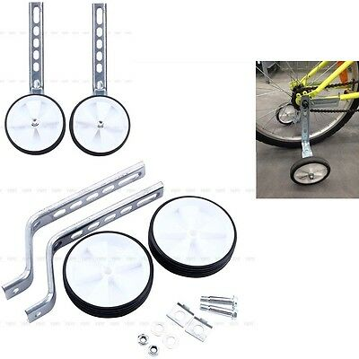"""Hot Children Kids 12-20"""" Bicycle Bike Cycle Support Stabilizers Training Wheels"""