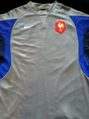 France Rugby Jersey Rare Xl