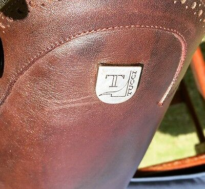 Tucci Long Riding Boots Brown