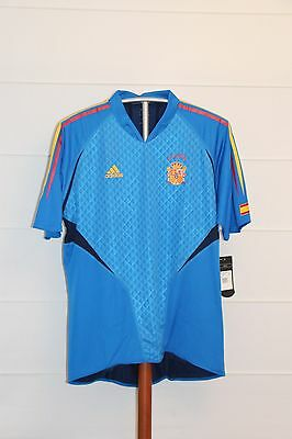 Camiseta Futbol España 2004 NUEVA Football Shirt GK Spain BNWT Talla L Player