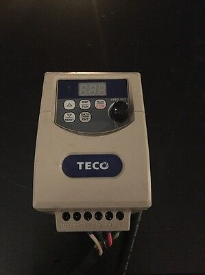 Teco 0.25 HP Variable Frequency Drive Model JNEV-2P2-H1