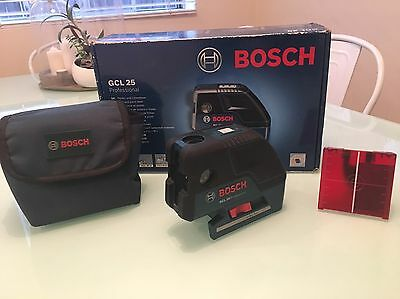 Bosch Professional  CGL  25 Laser Level 5 Point Alignment Cross Line