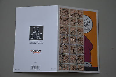 GELUCK - CP Le Chat - P&T Production 2003 - 11701