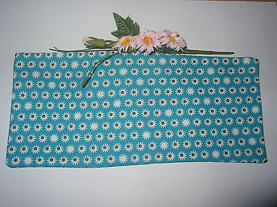 Blue Spot Fabric Lavender Filled Yoga Relaxation Eye Pillow *free Cover*