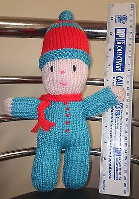 Hand Made Knitted Doll Noddy