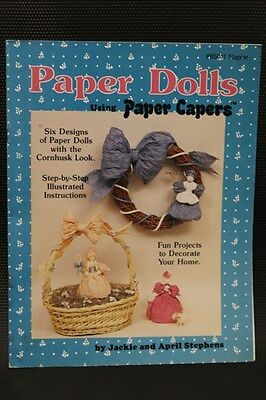 Paper Dolls using Paper Capers #85011 (1988)